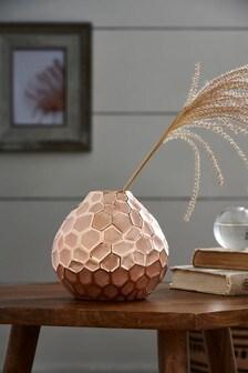 Blush Ceramic Vase