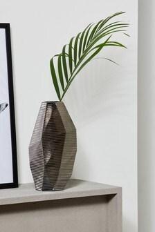 Facet Glass Vase