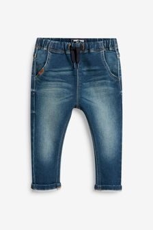 Super Soft Pull-On Jeans With Stretch (3mths-7yrs)
