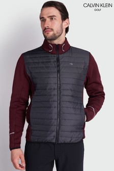 Calvin Klein Golf Purple Wrangell Hybrid Jacket