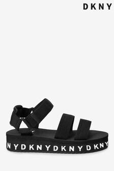 DKNY Black Sandals