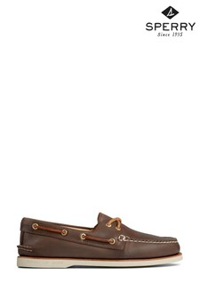 Sperry Brown Gold Cup Authentic Original Boat Shoes