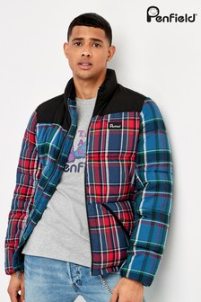 Penfield Red Check Walkabout Padded Jacket