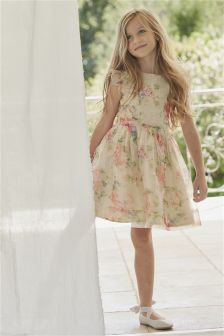 Organza Prom Dress (3-14yrs)