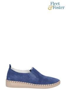 Fleet & Foster Blue Tulip Slip-On Shoes