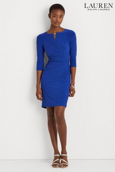Lauren Ralph Lauren® Marine Blue Stretch Kelby Dress