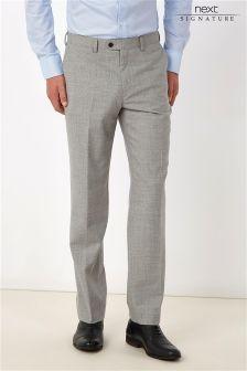 Signature Flannel Suit: Trousers