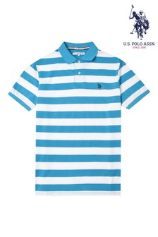 U.S. Polo Assn. Striped Relaxed Fit Polo