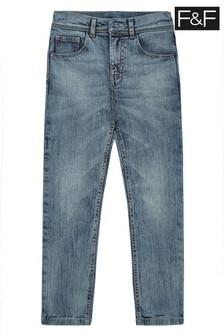 F&F Blue Skinny Jeans