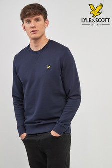 Sweter z okrągłym dekoltem Lyle & Scott