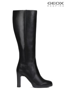 Geox Women's Annya Black Boot