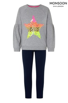 Monsoon Star Sweater & Leggings Set