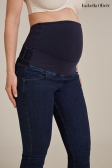 Isabella Oliver Blue Super Stretch Maternity Skinny Jeans