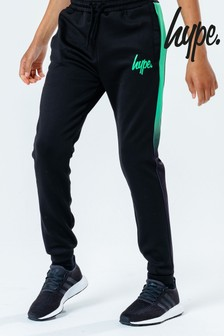 Hype. Kids Black Emerald Fade Joggers