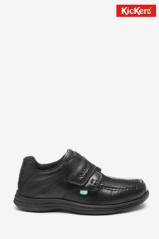 Kickers Reasan Strap Leather Shoes