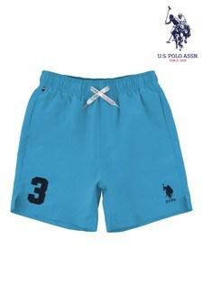 U.S. Polo Assn. Blue Player 3 Swim Shorts