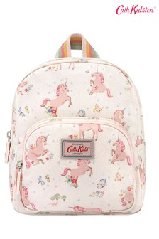 Cath Kidston® Kids White Unicorn Meadow Mini Rucksack