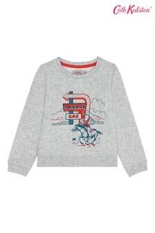 Cath Kidston® Kids White Cowboy Garage Sweatshirt