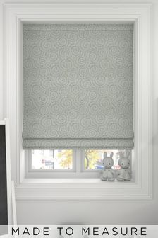 Inspira Seafoam Green Made to Measure Roman Blind