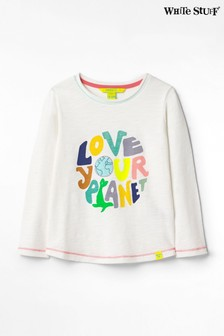 White Stuff Love Your Planet Jersey T-Shirt