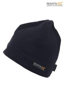Regatta Black Kingsdale Fleeced Hat