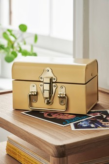Mini Metal Storage Trunk