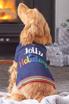 Jolly Holidays Knit Dog Jumper