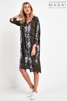 Masai Green Nimes Shirt Dress