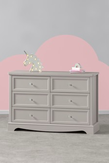 Amelia Wide 6 Drawer Chest