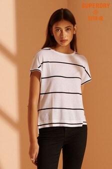 Superdry NYC Linen T-Shirt