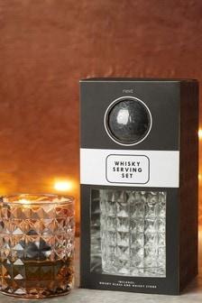 Whiskey Glass & Stones Gift Set