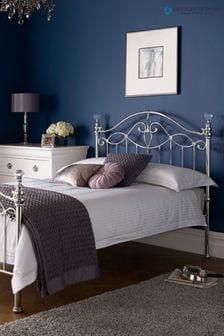Elena Nickel Bed by Bentley Designs