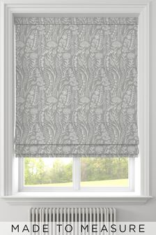 Garrick Aluminium Grey Made To Measure Roman Blind
