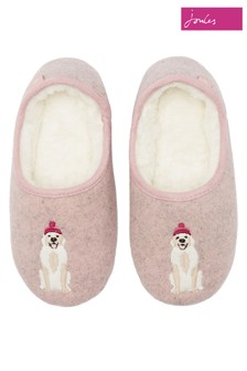 Joules Brown Mule Slippers