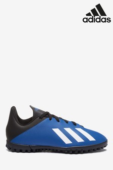 adidas Navy P4 X Turf Junior & Youth Boots