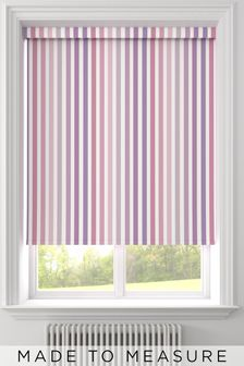 Stripe Pink Made To Measure Roller Blind