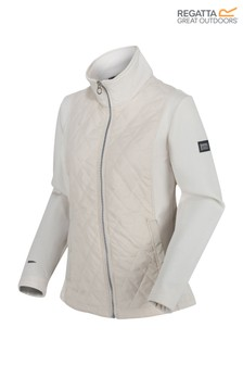 Regatta Cream Zuzela Full Zip Fleece Sweater
