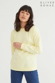 Oliver Bonas Yellow Super Soft Sweatshirt