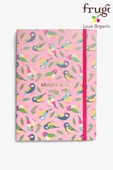 Frugi Finches FSC Notepad With Elastic Closure