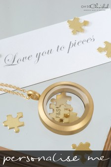 Personalised Love You To Pieces Necklace by Oh So Cherished