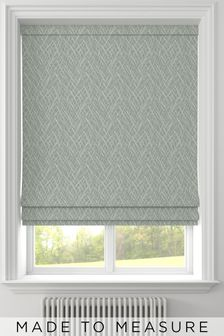 Pionna Seafoam Green Made To Measure Roman Blind