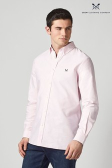 Crew Clothing Company Pink Crew Classic Oxford Shirt