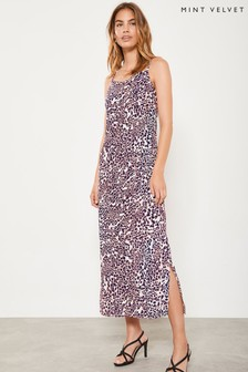 Mint Velvet Scarlett Print Slip Dress