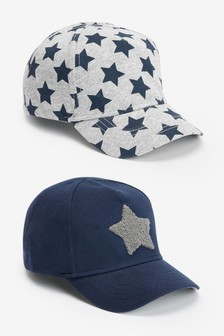 2 Pack Star Caps (Younger)