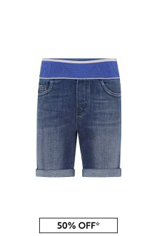 Emporio Armani Boys Blue Shorts