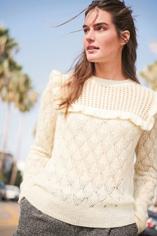 Ruffle Stitch Jumper