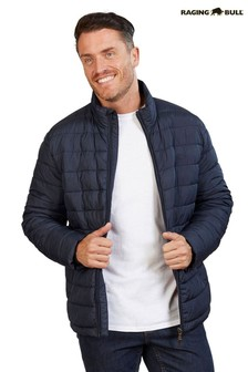 Raging Bull Blue Lightweight Padded Jacket