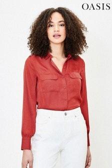 Oasis Bronze Utility Shirt