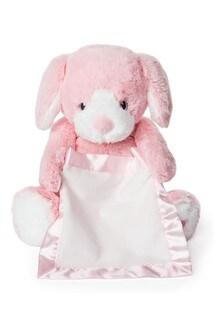 Gund Peek A Boo Puppy Pink