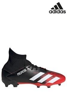 adidas Black P3 Predator Junior & Youth Football Boots